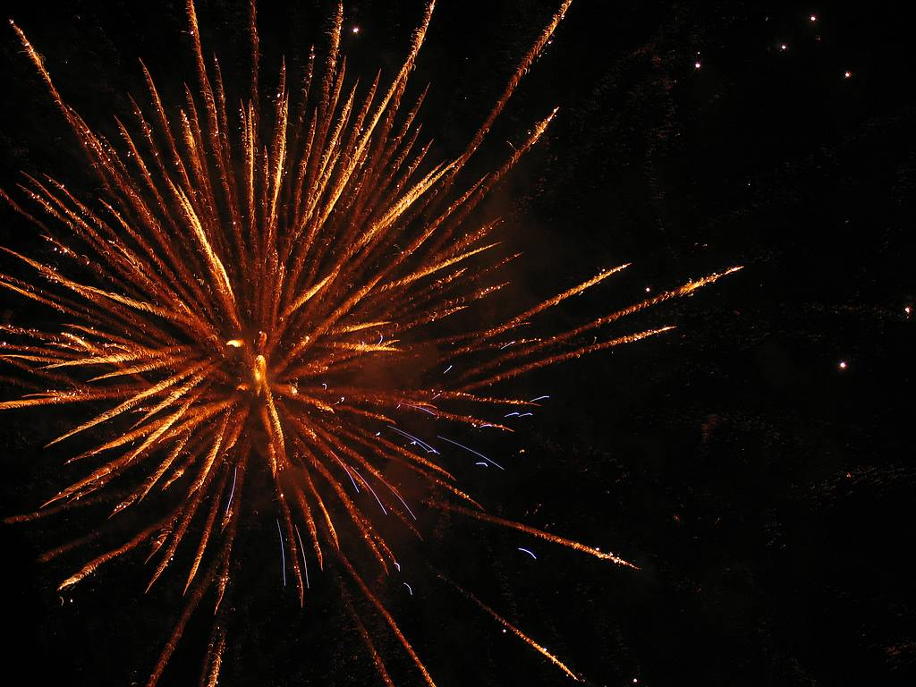 fireworks-orange-fire